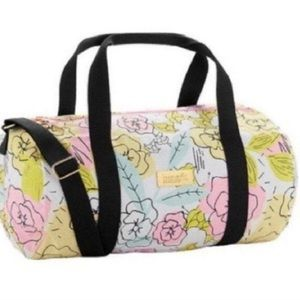 Benefit floral duffel bag